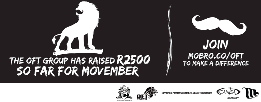 OFT Group Movember Campaign